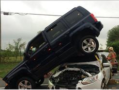 Several Injured As Five Car Pile-Up Closes Ridge Road