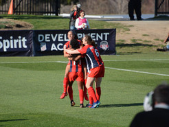 Pugh Named NWSL Player of the Week After Spirit Wins Home Opener