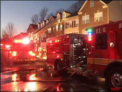 Fire Damages Townhouse, Displaces Two