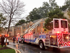 Man Throws Burning Objects at First Responders as Fire Grows Around Him in Clarksburg Townhouse