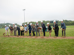 Officials Break Ground for New Seneca Valley High School