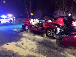 Clopper Road Crash Injures Four