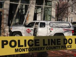 No Drive-Thru: Crash Forces Exterminator Truck into Chipotle Restaurant