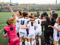 Montgomery College Women's Soccer Team Wins Regional Championship