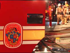 Closed Door, Smoke Alarms Save Family During Germantown Fire