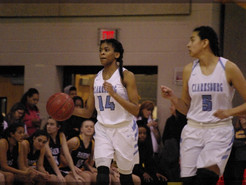 Lady Barons End Clarksburg Girls Hopes of a Deeper Run into the State Final Four