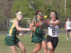 Germantown's Girls LAX Teams Clash in Playoff Tune-Up