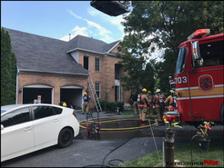 Fire Does $300K Damage to Darnestown Home
