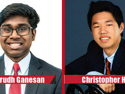 Two Clarksburg High School Students Named Davidson Fellows