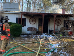 MCFRS Respond to Two UpCounty Fires on Tuesday