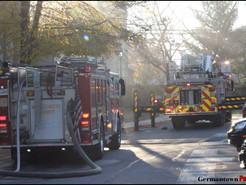 Fire Damages Appledowre Circle Townhouse