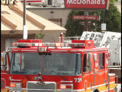 Fryer Fire Brings Firefighters to McDonald's