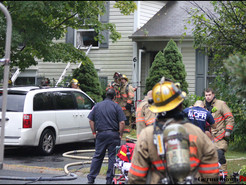 Shakespeare Court Fire Displaces Family