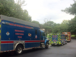 Gasoline in Sewer Lines Leads to Small Fire and Haz-Mat Incident
