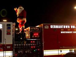 Santa Claus is Coming to Town: Germantown Volunteer Fire Dept. Releases 2018 Schedule