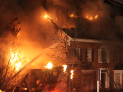 Massive House Fire in Boyds Displaces Family