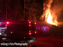 Fire Rips Through Germantown House