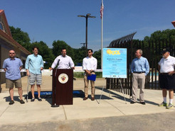 County Pools Open with Ribbon Cutting at Renovated Western County Outdoor Pool