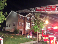 Clarksburg Family Displaced After Early Morning Fire