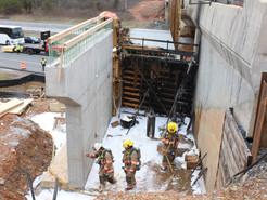 Propane Explosion Sparks Construction Fire in Clarksburg