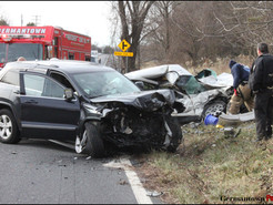 Serious Crash Closes Clarksburg Road in Both Directions
