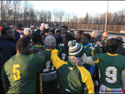 Students and Police Find Common Ground on Gridiron