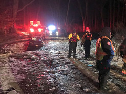 Three Rescued from Icy Waters by MCFRS in Boyds