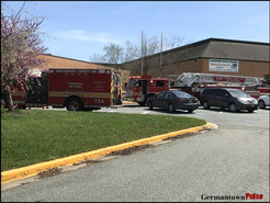 MCFRS Responds to Dryer Fire at Kingsview Middle School