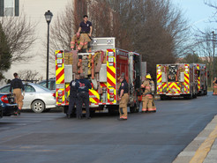 Resident Treated for Smoke Inhalation After Fire