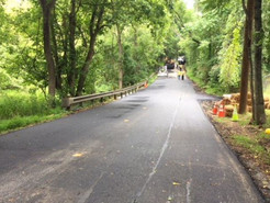 Game Preserve Road Reopens, Sinkhole and Culvert Repaired