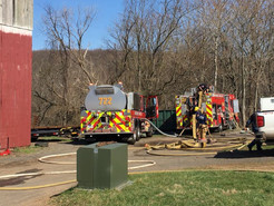 Fire Injures Boyds Toddler