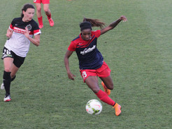 Spirit's Draw Hurts Home Playoff Hopes, Despite Dunn's Double
