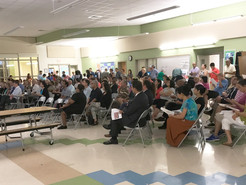 Large Turnout for Coalition for UpCounty Town Hall