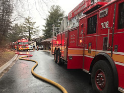 Laurel Hill Way Fire Displaces Family