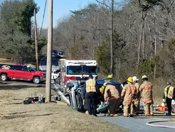 Clarksburg Road Crash Leaves One Woman Trapped