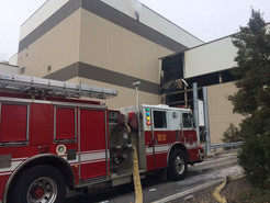 MCFRS Remains on Scene at Incinerator Fire; Trash Pick-Up Not Affected, Building May Smoke for Days