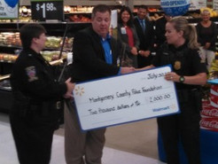 MoCo Police Receive Grant from Germantown Walmart