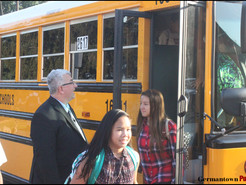 First Day of School Brings New MCPS Superintendent to Clarksburg and Germantown