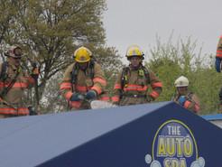 Car Wash Damaged by Fire