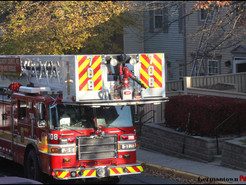 Townhouse Fire Displaces Two Families in Germantown