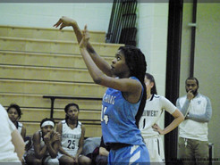 Clarksburg Girls Sweep Lady Jags With 55-35 Win