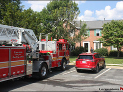 Bedroom Fire Damages Germantown Townhouse