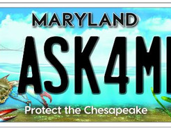 New Chesapeake Bay License Plate Design Unveiled