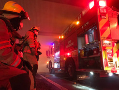 UPDATE: Firefighters Continue to Battle Stubborn Trash Fire in Dickerson