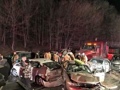 State Police Seek Truck Responsible for Massive I-270 Pileup Crash