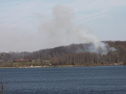 Firefighters Battle Two Large UpCounty Brush Fires