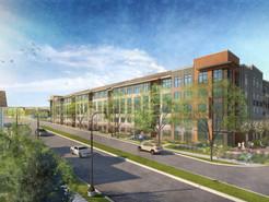 A New 272-Unit Apartment Complex Begins Construction in Clarksburg