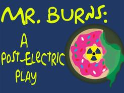 "Seneca Valley Drama to Present ""Mr. Burns: A Post-Electric Play"""