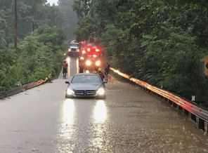 Morning Storm Floods Many Germantown Roads, Creates Commuting Chaos