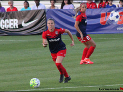 Spirit Beat Pride to Remain in First Place in NWSL